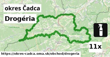 Drogéria, okres Čadca