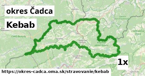 Kebab, okres Čadca
