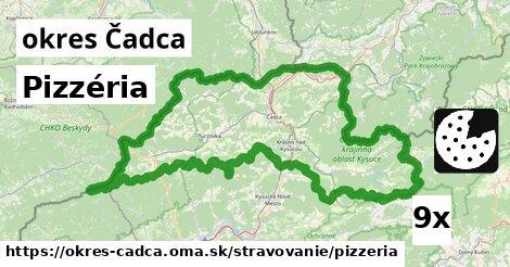 ilustračný obrázok k Pizzéria, okres Čadca
