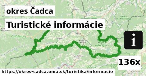 Turistické informácie, okres Čadca