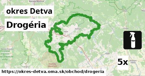 ilustračný obrázok k Drogéria, okres Detva