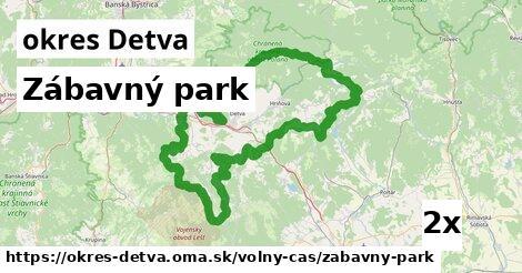 zábavný park v okres Detva