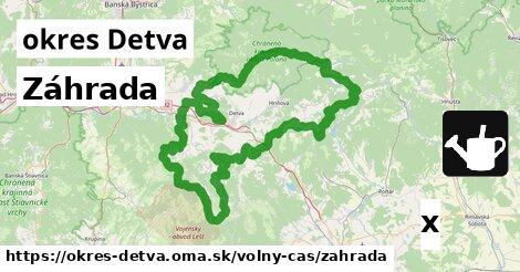 ilustračný obrázok k Záhrada, okres Detva