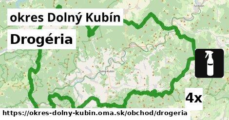 Drogéria, okres Dolný Kubín