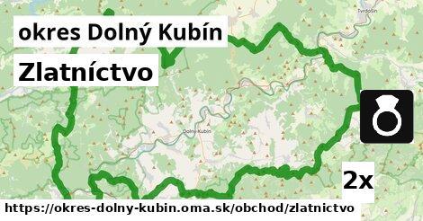 Zlatníctvo, okres Dolný Kubín
