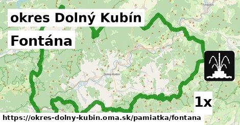 Fontána, okres Dolný Kubín