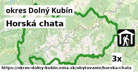 Horská chata, okres Dolný Kubín