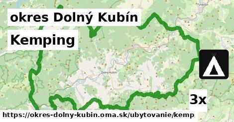 Kemping, okres Dolný Kubín