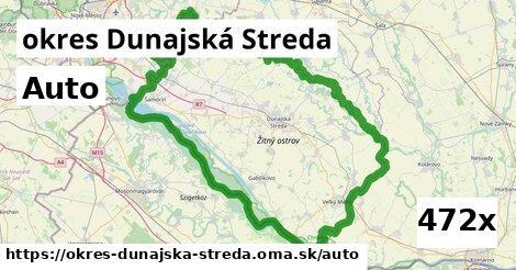 auto v okres Dunajská Streda