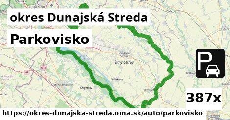 ilustračný obrázok k Parkovisko, okres Dunajská Streda