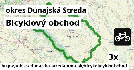 Bicyklový obchod, okres Dunajská Streda