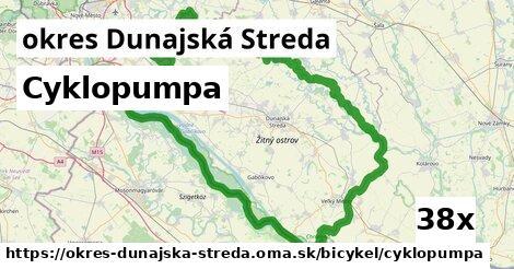 Cyklopumpa, okres Dunajská Streda
