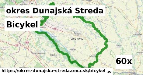 bicykel v okres Dunajská Streda
