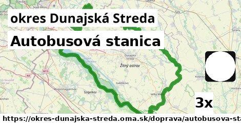 ilustračný obrázok k Autobusová stanica, okres Dunajská Streda