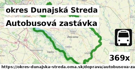 ilustračný obrázok k Autobusová zastávka, okres Dunajská Streda
