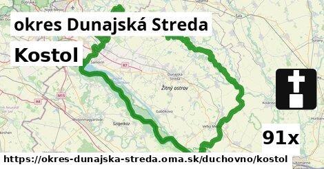 ilustračný obrázok k Kostol, okres Dunajská Streda