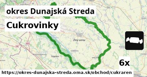 Cukrovinky, okres Dunajská Streda