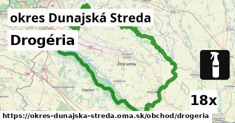Drogéria, okres Dunajská Streda