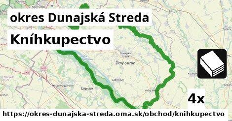 Kníhkupectvo, okres Dunajská Streda