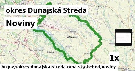 Noviny, okres Dunajská Streda