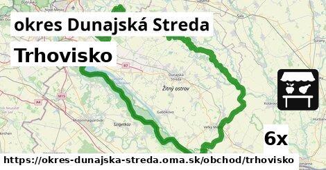 Trhovisko, okres Dunajská Streda
