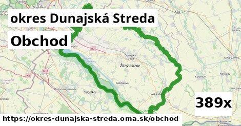 obchod v okres Dunajská Streda