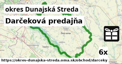 ilustračný obrázok k Darčeková predajňa, okres Dunajská Streda
