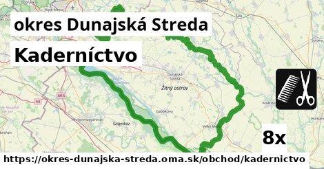 ilustračný obrázok k Kaderníctvo, okres Dunajská Streda