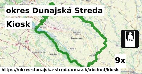 ilustračný obrázok k Kiosk, okres Dunajská Streda
