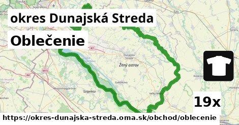 ilustračný obrázok k Oblečenie, okres Dunajská Streda