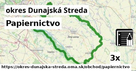 ilustračný obrázok k Papiernictvo, okres Dunajská Streda