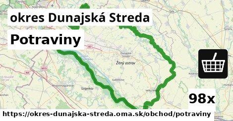 ilustračný obrázok k Potraviny, okres Dunajská Streda