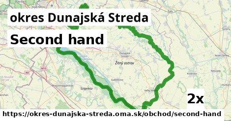 ilustračný obrázok k Second hand, okres Dunajská Streda