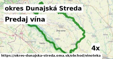 ilustračný obrázok k Predaj vína, okres Dunajská Streda