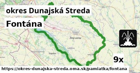 Fontána, okres Dunajská Streda