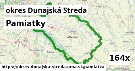 pamiatky v okres Dunajská Streda