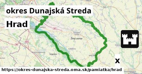 ilustračný obrázok k Hrad, okres Dunajská Streda