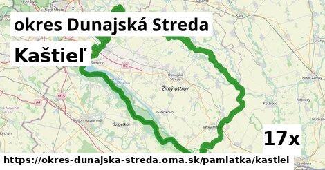 kaštieľ v okres Dunajská Streda
