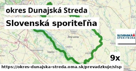 ilustračný obrázok k Slovenská sporiteľňa, okres Dunajská Streda