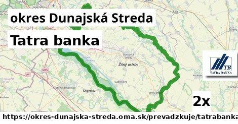 ilustračný obrázok k Tatra banka, okres Dunajská Streda