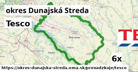 ilustračný obrázok k Tesco, okres Dunajská Streda