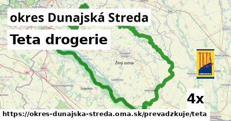 ilustračný obrázok k Teta drogerie, okres Dunajská Streda