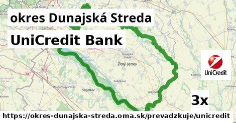 ilustračný obrázok k UniCredit Bank, okres Dunajská Streda