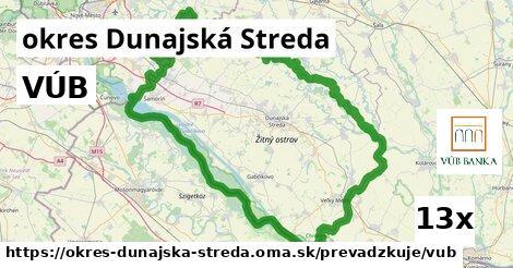 ilustračný obrázok k VÚB, okres Dunajská Streda