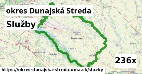 služby v okres Dunajská Streda