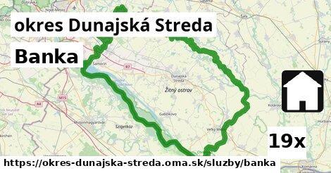 banka v okres Dunajská Streda
