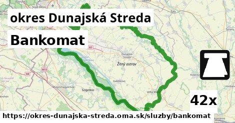 ilustračný obrázok k Bankomat, okres Dunajská Streda