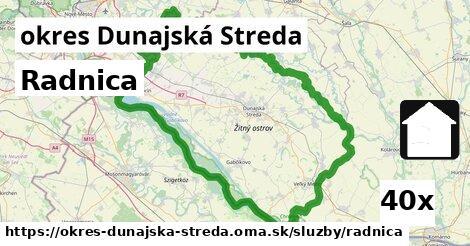 ilustračný obrázok k Radnica, okres Dunajská Streda