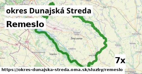 remeslo v okres Dunajská Streda