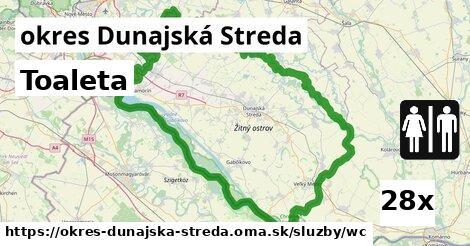 ilustračný obrázok k Toaleta, okres Dunajská Streda